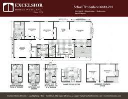 schult manufactured homes floor plans schult timberland 6432 701 excelsior homes west inc