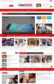 dailytimes magazine joomla theme free download