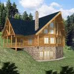 small cabin plans with basement small country cabin house plan walkout basement building plans