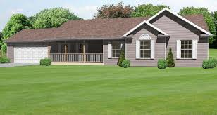 front porch ranch house 1662 sq ft ranch house plan with an