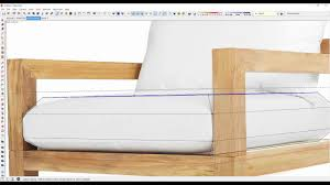 quickly create a designer chair in sketchup youtube
