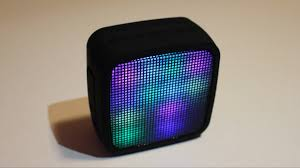 light up bluetooth speaker cool light up bluetooth speaker youtube