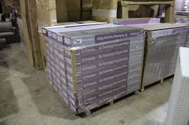 pallet of ec premium grey laminate flooring