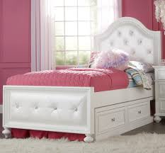 girls twin bed frames bedroom awesome girls design with white bed sheet cream minimalist