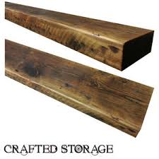 Free Floating Shelves by Reclaimed Chunky Floating Shelf Shelves Wooden Free Delivery Ebay