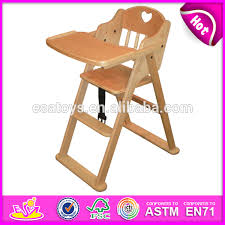 High Chair Toy Wholesale Wooden Baby Chair Comfortable Wooden Toy Baby Feeding