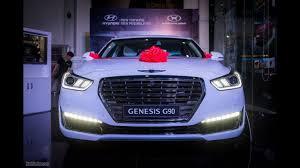 lexus ls vs genesis g90 details of genesis g90 large luxury sedan from korea youtube