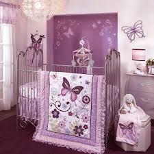 nursery bedroom sets purple butterfly bedding set cheap for nursery ba girl decor crave