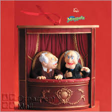 2008 muppet show statler and waldorf magic hallmark keepsake ornament