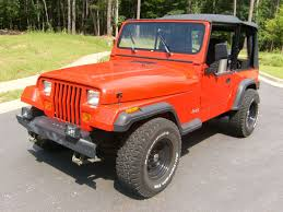 jeep wrangler orange 1994 jeep wrangler forsalebyslim com