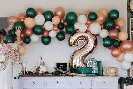 balloon garland into the balloon garland set made pretty