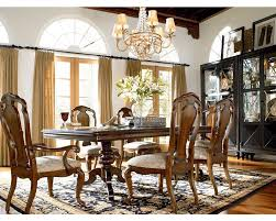Thomasville Dining Room Table And Chairs by Castillian Double Pedestal Table Dining Room Furniture