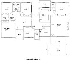 6 bedroom house plans in ghana