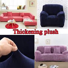 sofa hussen stretch sofa hussen elastische fleece spandex sofagarnitur set sessel