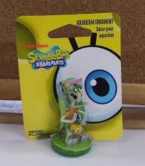 spongebob ornament mini squidward decor east road pets ltd