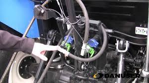installation of pn 21231 front end loader hose kit youtube