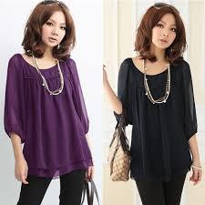 purple blouse plus size fashion plus size summer blouses black purple chiffon blusa