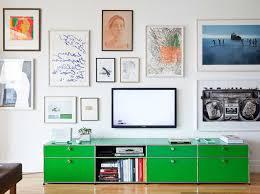 wohnzimmer sideboard sideboard tv glas grün mit edelstahlrahmen für usm sideboard