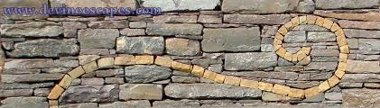 Dry Laid Bluestone Patio by Artistic Dry Laid Stone Walls Devine Escapes