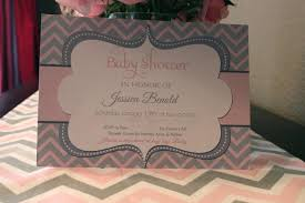 john and rachel pink u0026 grey chevron baby shower