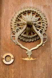 Handmade Ottoman Handmade Ottoman Door Knob On Wood Stock Photo Picture And