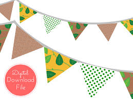 jungle baby shower banner magical printable