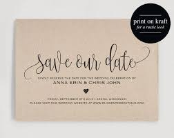 make your own save the date 25 best ideas about save the date cards on save the