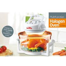 12 quart 1200w halogen convection countertop oven roast bake broil
