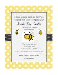 bumble bee baby shower invitation 7 00 via etsy kristin baby