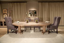 oval dining room table dining room contemporary with black and