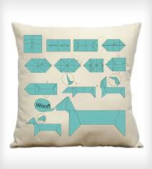 Origami Home Decor by Dog Origami Instructions Pillow Home Decor U0026 Lighting Finch