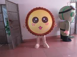 halloween costume discount size food egg tart costume halloween christmas oem cartoon