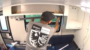 box truck camper 93 blackout ikea roller blinds youtube