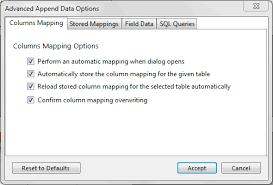 excel date format to mysql mysql mysql for excel guide 6 2 append advanced options