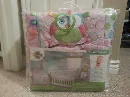 Owl Nursery Bedding Sets by Nursery Makeover Taggies Soft U0027n Snug Bouncer And Owl 4 Piece