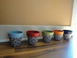 halloween clay pot crafts 40 ideas to dress up terra cotta flower pots diy planter crafts