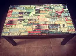 Miami Home Design And Remodeling Show Tickets 7 Cute Ways To Display Old Concert Tickets Concert Tickets
