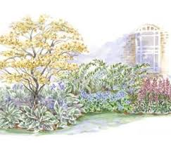 Garden Plans Zone - beautiful shade garden plans also breathtaking shade garden design