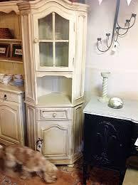 corner cabinet shabby u0027chic u0027 furniture