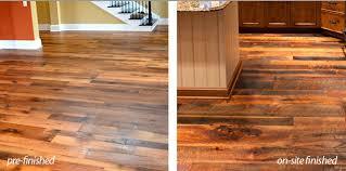 Cheap Unfinished Hardwood Flooring Prefinished Vs Unfinished Hardwood Floors Blitz