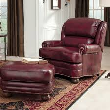 leather chair and a half with ottoman ottomans comfy chairs for bedroom oversized chair and a half