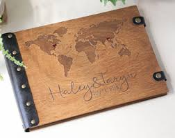 travel photo album travel photo album photo album travel album wood photo