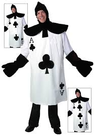 ace of clubs card costume card costume caterpillar costume and