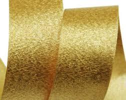 gold satin ribbon gold satin ribbon etsy