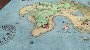 Map Of Neverland Motion Graphics Final Project Neverland Map On Vimeo