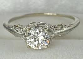 antique filigree diamond rings antique wedding ring sets