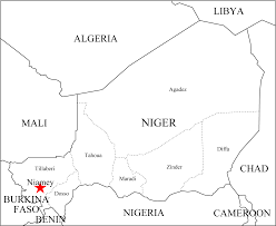 Outline Map Of Africa by Africa Niger Outline Map U2022 Mapsof Net
