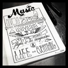 quote drawings drawn typeface sketchbook pencil and in color drawn typeface