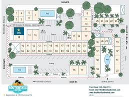 Key West Florida Map Old Town Key West Motel Property Map Southwinds Motel