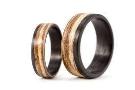 wood wedding band carbon fiber and curved zebra wood wedding bands 00415 5n8n